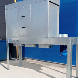 Dust collector 4 kW ATE 3-bags enclosed
