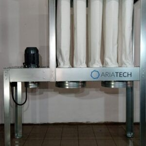 Dust collector 4 kW ATE 2-bags